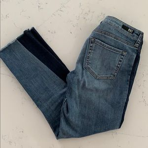 Kut Cropped Jeans Only Worn Once!